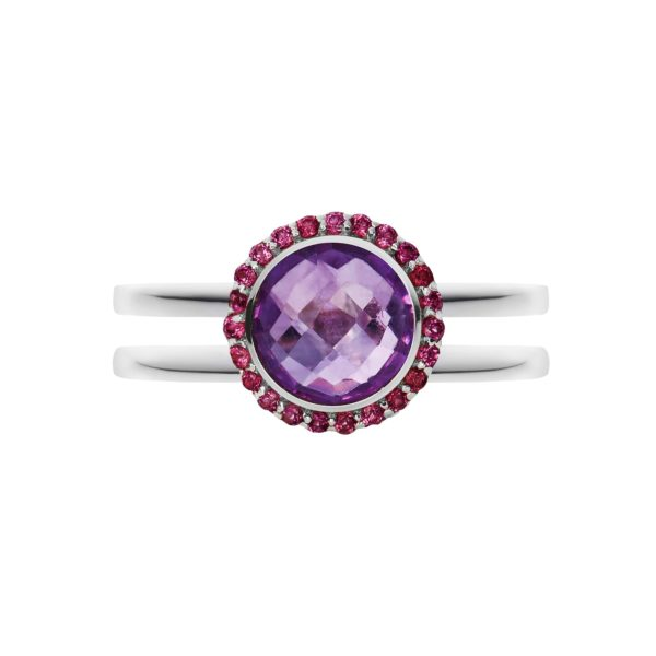 Purple Amethyst, Februaury birthstone, amethyst ring.