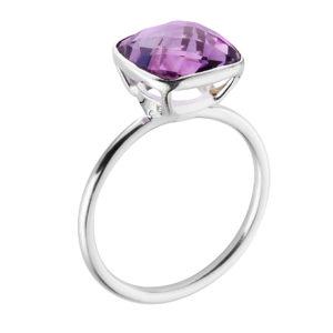 Shakara Jewellery, Bonbon Pink Amethyst gemstone stacking ring.